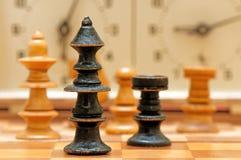 一盘象棋形象 库存图片