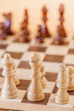 一盘象棋 免版税库存图片