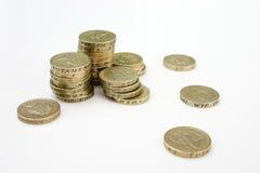 一磅金币 免版税库存图片