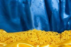 一种典雅的织品 库存图片
