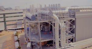 一种大工业体系的空中英尺长度 股票录像