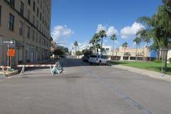 一种方式,但是更加接近方式的街道 库存图片