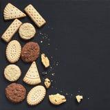 一种油脂含量较高的酥饼的混合 免版税图库摄影