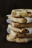 一种油脂含量较高的酥饼 库存照片