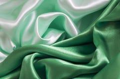 一种绿色背景织品 免版税图库摄影