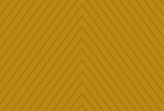 一种黄色颜色的背景与形成三角的线的 免版税库存照片