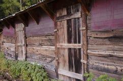 一种建筑结构在圣Elmo镇在科罗拉多 图库摄影
