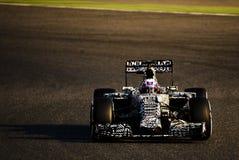 一级方程式赛车测试天-丹尼尔・里奇亚多 免版税图库摄影