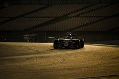 一级方程式赛车测试天-帕斯托・马尔多纳多 免版税库存照片