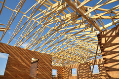 一结构木头 库存图片