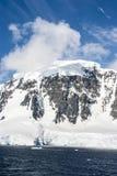 一美好的天在南极洲 图库摄影
