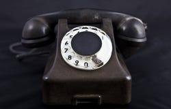 一老telephon 免版税库存图片