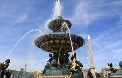 一致巴黎广场 免版税图库摄影