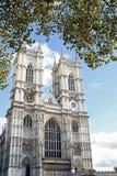 威斯敏斯特修道院(圣皮特牧师会主持的教堂在威斯敏斯特),伦敦 图库摄影