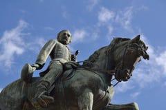 一般呆板的纪念碑 免版税库存照片