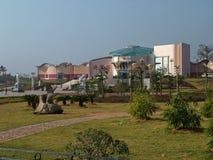 一般庭院位于兴国县 库存照片
