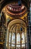 一般风景视图在传统荷兰教会里 时间间隔 库存图片