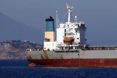 一般货物船:在船尾的区域 库存图片