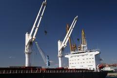 一般货物船 库存照片