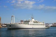 一般货物船 免版税图库摄影