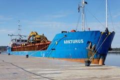 一般货物船Arkturus 免版税库存照片