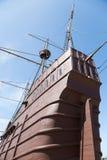 以一艘船的形式海博物馆在马六甲 免版税图库摄影