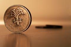 一英镑 免版税库存照片