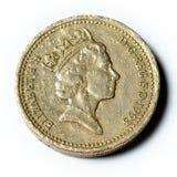 一英镑 库存图片