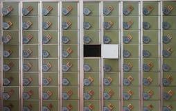 仅一被留下的衣物柜 免版税库存图片