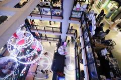 一购物中心在香港旺角 免版税库存图片