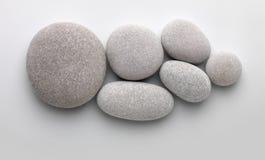 一起几个小卵石 免版税图库摄影