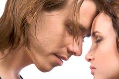 一起夫妇系列年轻人 免版税库存图片