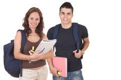 一起学员年轻人 免版税图库摄影