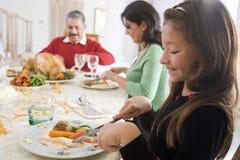 一起所有圣诞节正餐系列 免版税库存照片