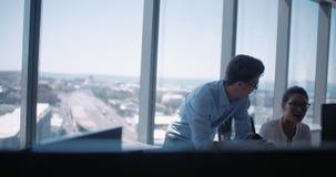 一起研究计算机的企业队 影视素材