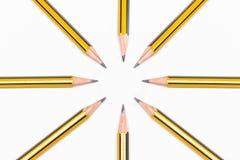 一起铅笔 免版税图库摄影