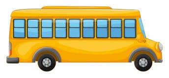 一辆公共汽车 免版税库存照片