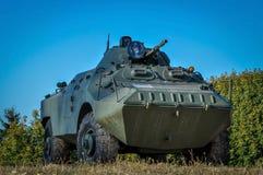 一辆坦克 免版税图库摄影