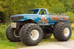 一辆巨型卡车在弗吉尼亚 图库摄影