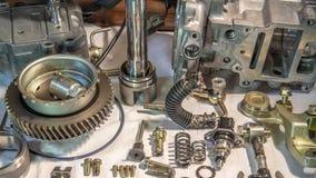 从一辆汽车的燃油泵在一个被拆卸的状态 免版税库存照片