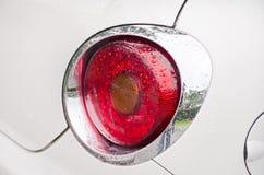 一辆现代汽车的尾灯 图库摄影