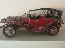 一辆红色汽车 免版税库存照片