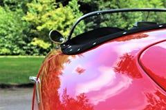 一辆经典汽车,葡萄酒的图象 库存图片