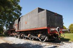 一辆老蒸汽机车在Camlik博物馆, Selcuk,土耳其 库存图片