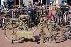 一辆自行车 免版税库存图片