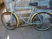 一辆自行车 免版税库存照片