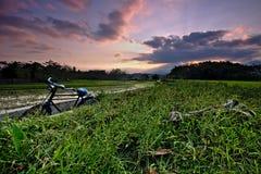 一辆自行车 图库摄影