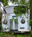 一辆被击毁的卡车 免版税库存照片