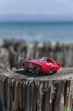 一辆赛车的模型 库存图片