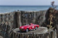 一辆赛车的比例模型 库存图片